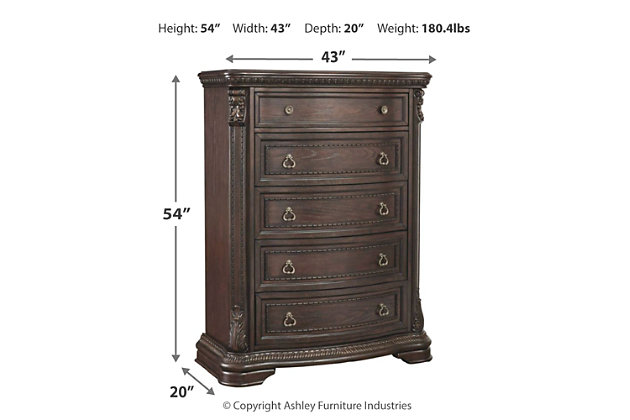 Wellsbrook Chest of Drawers, , large
