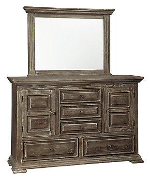Wyndahl Dresser and Mirror, , large