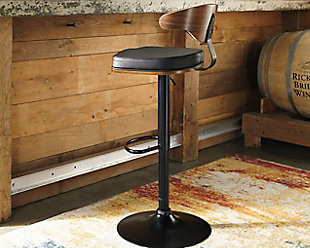 Bellatier Adjustable Height Bar Stool, , rollover