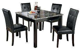 Maysville Dining Room Table and Chairs (Set of 5), , large