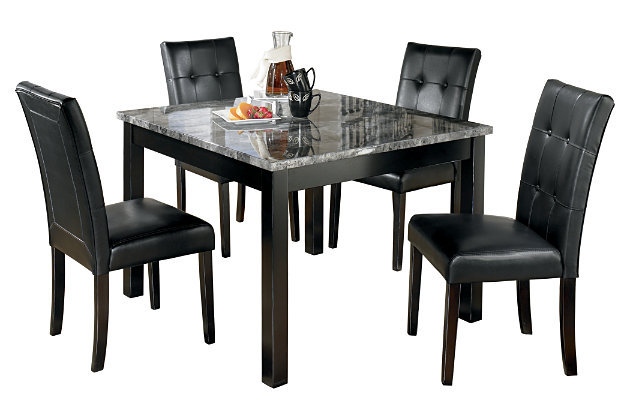 maysville dining room table and chairs (set of 5) | ashley