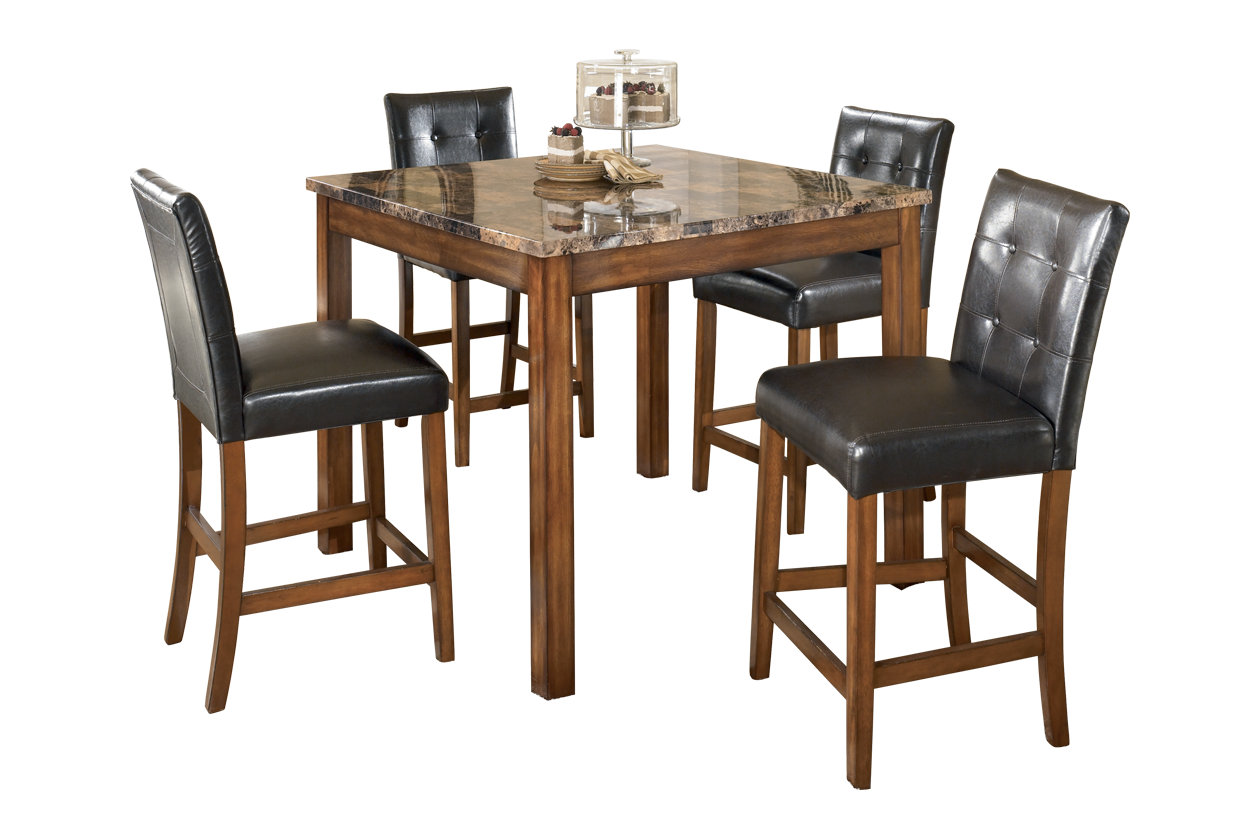 Swell Theo Counter Height Dining Room Table And Bar Stools Set Of Gmtry Best Dining Table And Chair Ideas Images Gmtryco