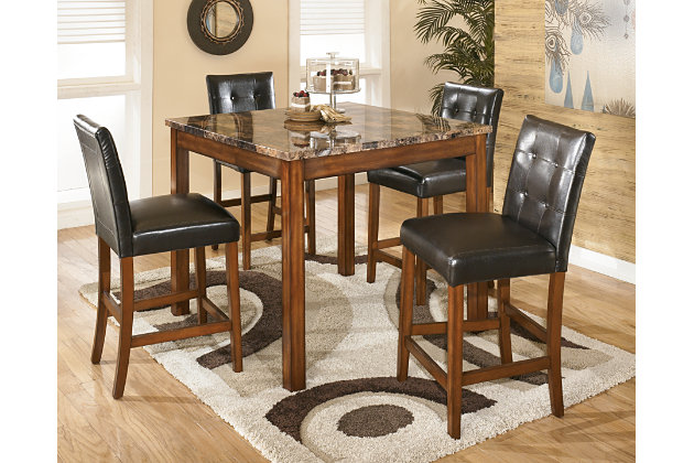 logan counter height dining room table and barstools set of 5 search