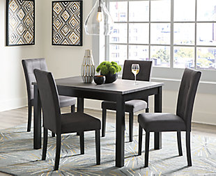 Garvine Dining Room Table and Chairs (Set of 5), , rollover