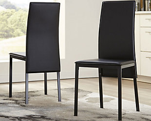 Sariden Dining Room Chair, Black, rollover