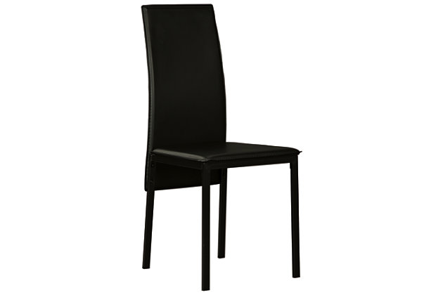 Sariden Dining Room Chair, Black, large