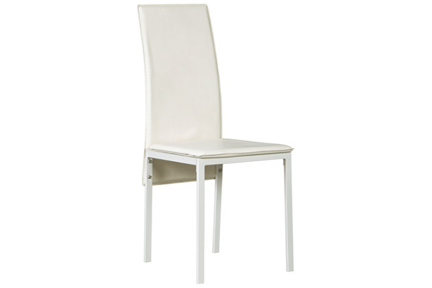 Sariden Dining Room Chair, White, large
