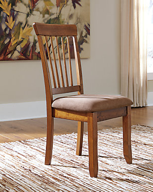 Berringer Dining Room Chair, Rustic Brown, rollover