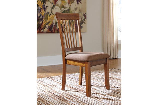 Berringer Dining Room Chair, Rustic Brown, large