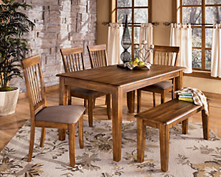Dining Room rustic brown view Rustic Brown View