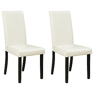 Kimonte Dining Room Chair, Ivory, large