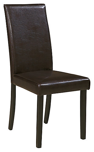 Kimonte Dining Chair, Dark Brown, large