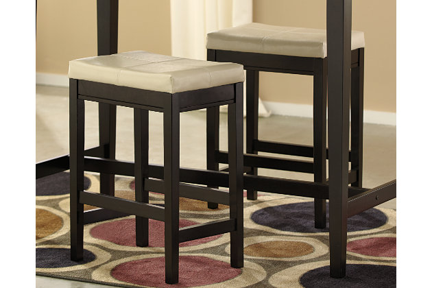 Ivory Kimonte Counter Height Bar Stool View 1