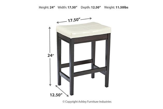 Kimonte Counter Height Bar Stool, , large