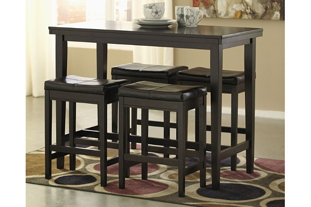 Great Kimonte Counter Height Dining Room Table, , Large ...