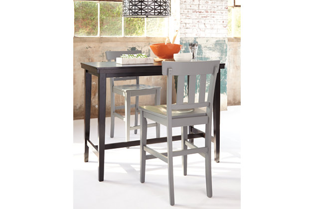 kimonte counter height dining room table ashley