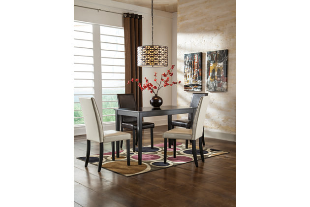 Kimonte Dining Room Table by Ashley HomeStore, Brown