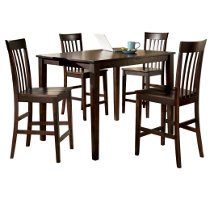 Hyland Dining Room Table And Chairs Set Of 5 Ashley