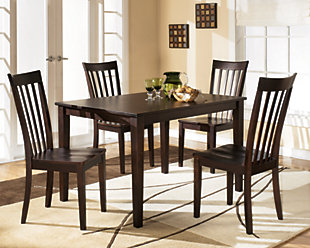 ... large Hyland Dining Room Table and Chairs (Set of 5)  rollover & Dining Room Sets | Move-in Ready Sets | Ashley Furniture HomeStore