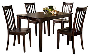 Hyland Dining Room Table and Chairs (Set of 5), , large