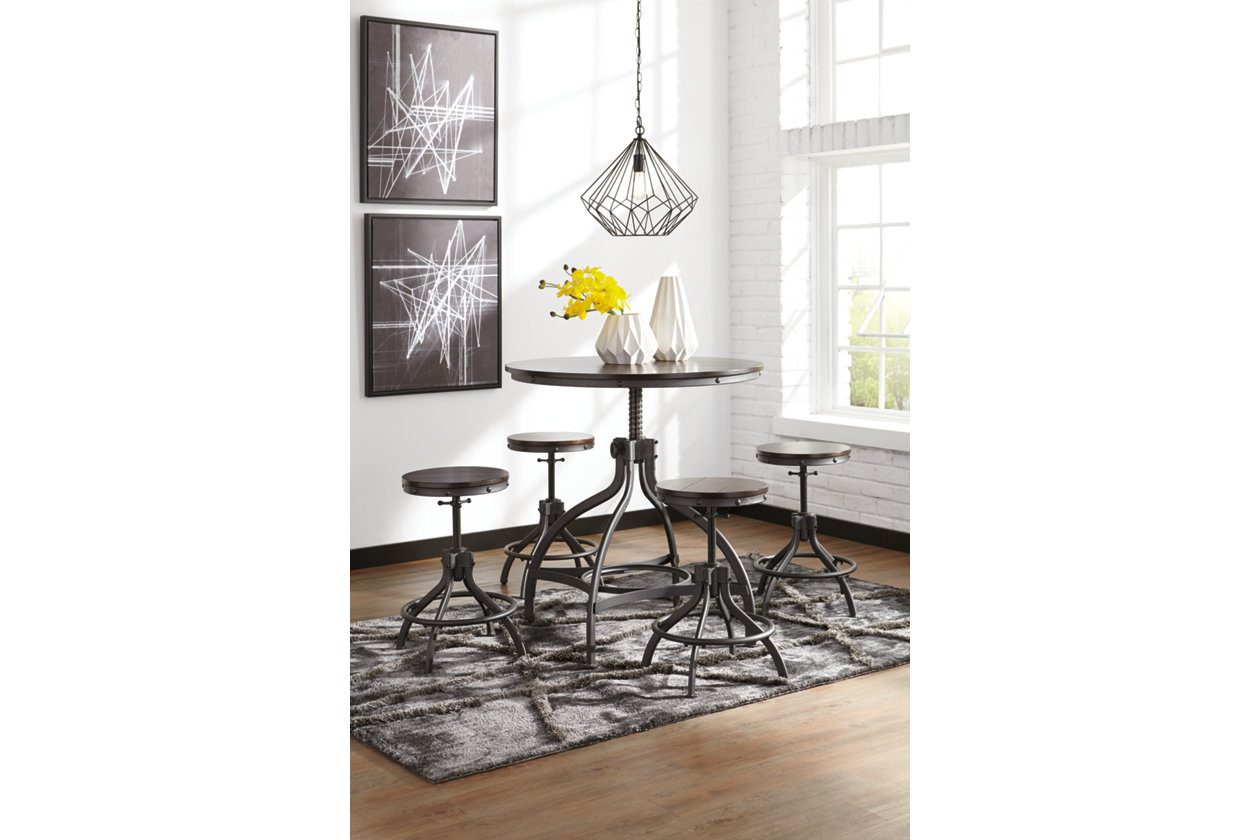 dining table decor ideas.htm odium counter height dining room table and bar stools  set of 5  odium counter height dining room table