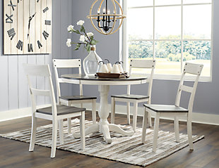 Nelling Dining Table and 4 Chairs, , large