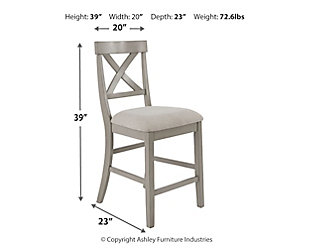 Parellen Counter Height Bar Stool, , large