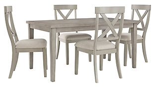 Parellen Dining Table and 4 Chairs, , large