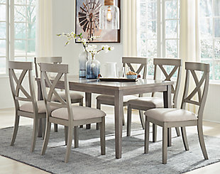 Parellen Dining Table and 6 Chairs, , rollover