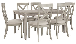Parellen Dining Table and 6 Chairs, , large