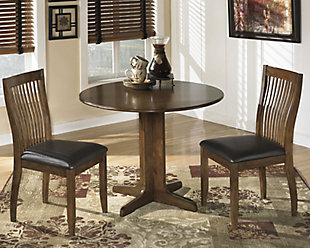 Stuman Dining Table and 2 Chairs, , large
