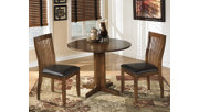 Stuman Dining Room Drop Leaf Table, , rollover