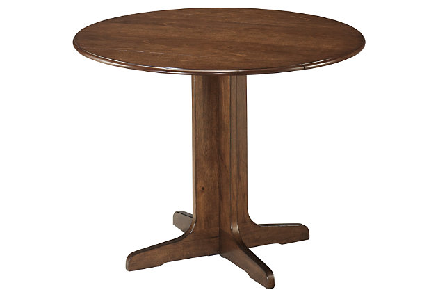 Stuman Dining Room Drop Leaf Table, , large