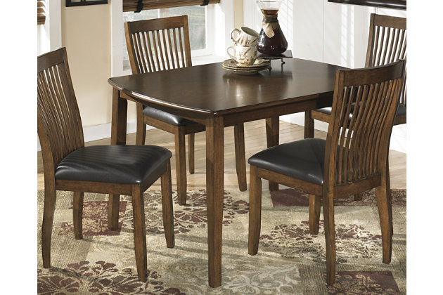 stuman dining room table and chairs (set of 5) | ashley furniture
