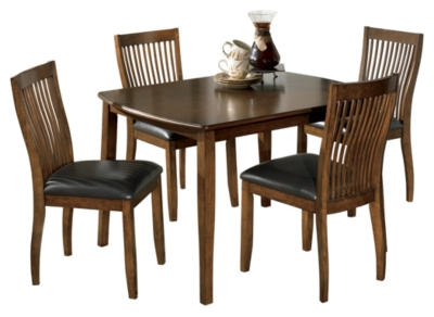 Stuman Dining Room Table and Chairs Set of 5Ashley Furniture