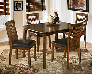 stuman dining room table and chairs set of 5 - Dining Room Furniture Chairs
