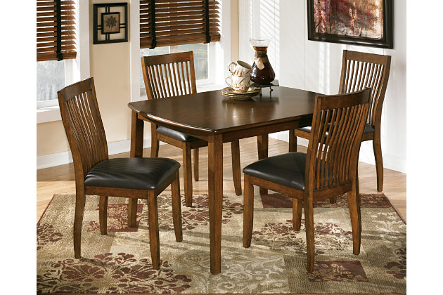 Stuman Dining Room Table and Chairs Set of 5