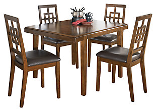 Cimeran Dining Room Table And Chairs Set Of 5 Large