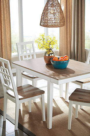 Brovada Dining Room Table And Chairs (Set Of 5) | Ashley Furniture