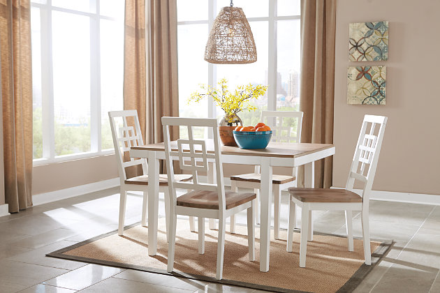 Brovada Dining Room Table and Chairs (Set of 5), , large