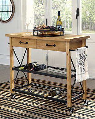 Marlijo Kitchen Cart, , rollover