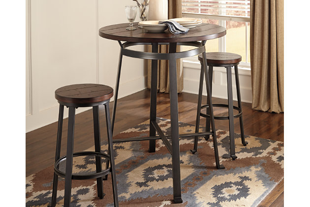 Amazing Challiman Dining Room Pub Table Product Photo