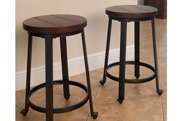 ashley furniture bar stools Challiman Counter Height Bar Stool | Ashley Furniture HomeStore ashley furniture bar stools