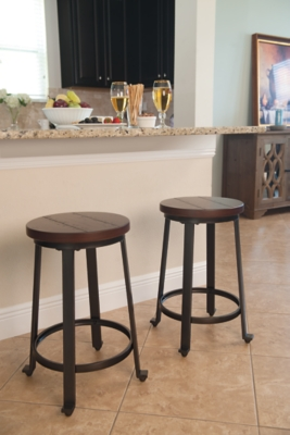 Challiman Counter Height Bar Stool Ashley Furniture Homestore