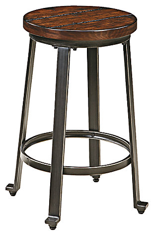 Astounding Counter Height Bar Stools 23 28 Ashley Furniture Homestore Gmtry Best Dining Table And Chair Ideas Images Gmtryco