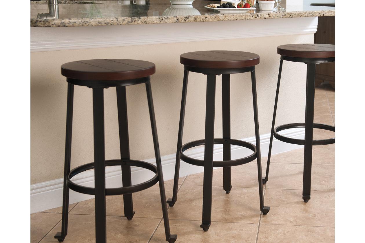 Wondrous Challiman Bar Height Bar Stool Ashley Furniture Homestore Inzonedesignstudio Interior Chair Design Inzonedesignstudiocom