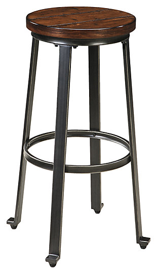 Challiman Bar Height Bar Stool, , large