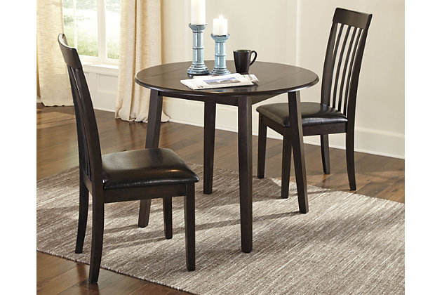Hammis Dining Table and 2 Chairs Set