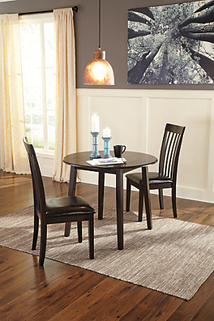 Hammis Dining Room Drop Leaf Table, , large