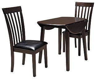 Hammis Dining Table and 2 Chairs, , large